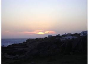 Cabo Polonio at sunset
